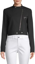 Lafayette 148 New York Lisette High Neck Jacket