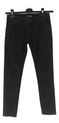 The Kooples Black Cotton - elasthane Jeans
