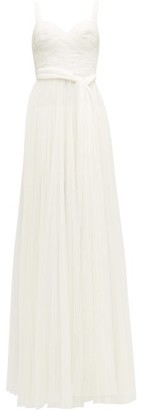 Maria Lucia Hohan Sienna Polka Dot Tulle Dress - Womens - White