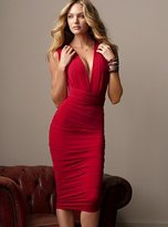 Ruched Multi-way Dress