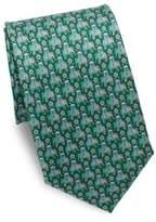 Salvatore Ferragamo Arabian Elephant Silk Tie
