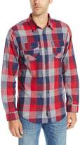 Burnside Men's Choice Longe Sleeve Button Down Woven Shirt