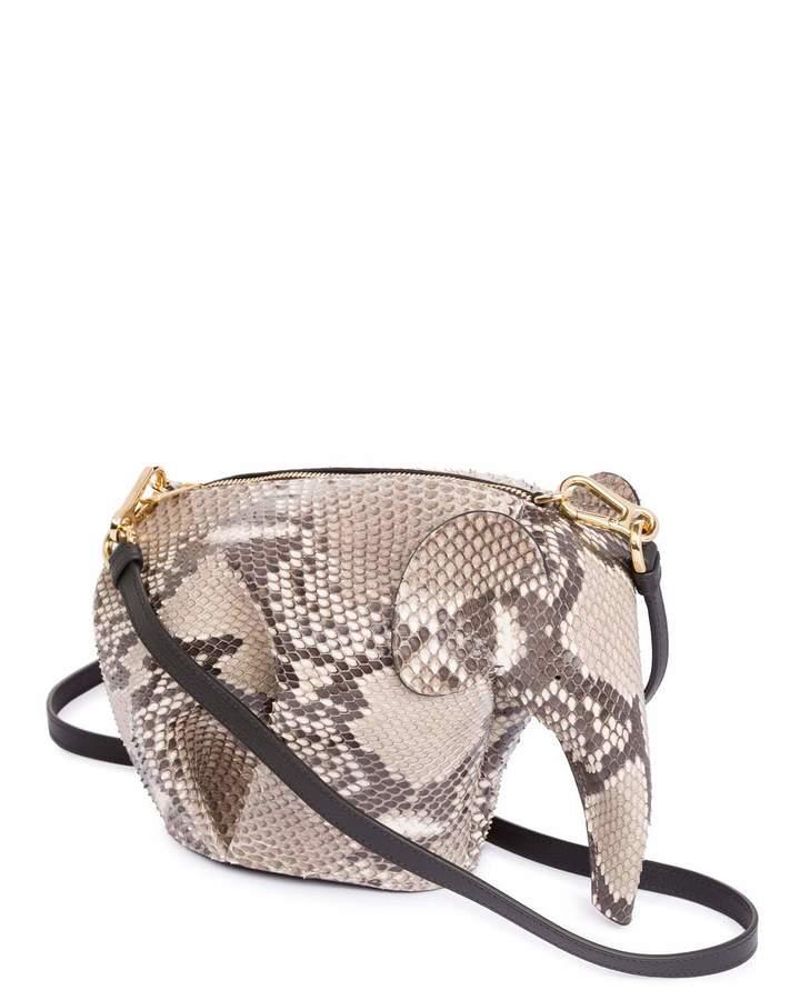 Loewe Python Elephant Mini Bag
