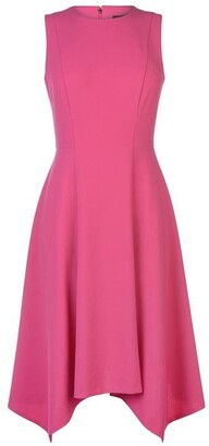 DKNY Occasion High Neck Chief Dress Ladies