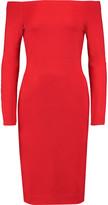 L'Agence Daphne off-the-shoulder stretch-jersey dress
