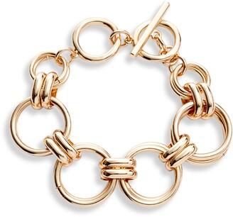 Halogen Large Link Chain Bracelet