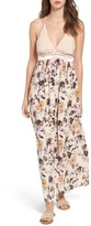Love, Fire Women's Floral Print Maxi Dress