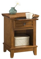 Home Styles Arts & Crafts Nightstand Cottage Oak