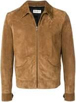Saint Laurent leather western jacket