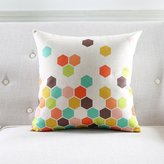 NSJDHF Simple modern Geometri Blend waist ushion /Pillow/Pillowases