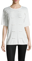 Opening Ceremony Fence Short Sleeve Boxy Top