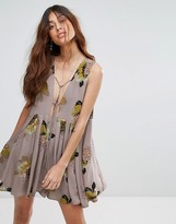 Free People Lovely Day Printed Dress
