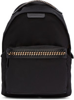 Stella McCartney Black Nylon Chained Backpack