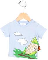 Gucci Boys' GG Bird Print Shirt