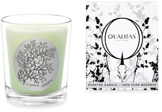 Qualitas Candles Cypress Scented Beeswax Candle