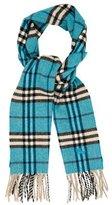 Burberry Kids' Wool Nova Check Scarf