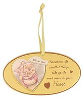 Winnie The Pooh Baby Oval Hanging Plaque by