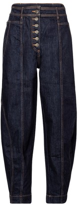 Ulla Johnson Keaton high-rise tapered jeans