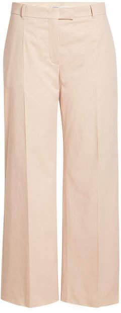 Agnona Straight Leg Pants with Cotton and Cashmere