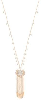 Piaget Sunlight 18K Rose Gold & Diamond Fringe Pendant Necklace