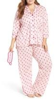 PJ Salvage Plus Size Women's Pajamas & Sleep Mask