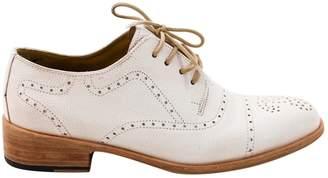 Florsheim X Esquivel \N Khaki Leather Flat