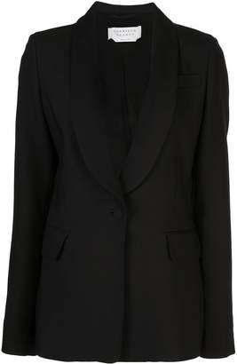 Gabriela Hearst shawl collar single breasted blazer