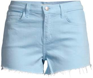 L'Agence Ryland High-Rise Cut-Off Shorts