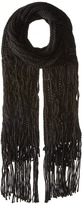 BCBGeneration Fringed Long and Skinny Scarf