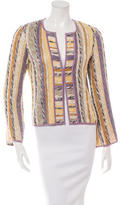 Missoni Open Front Knit Cardigan