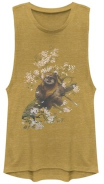 Fifth Sun Star Wars Wicket Ewok In A Tree Festival Muscle Tank
