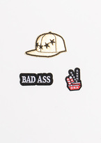 Missy Empire Helena Bad Ass 3 Pack Badges