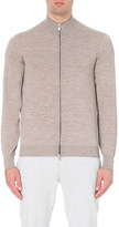 Brunello Cucinelli Zip-up wool and cashmere-blend cardigan