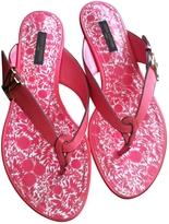 Louis Vuitton Tropical Flat Flip-Flops