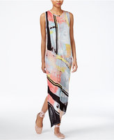 Rachel Roy Draped Asymmetrical Maxi Dress, Only at Macy's