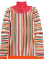 Missoni Crochet-Knit Turtleneck Sweater