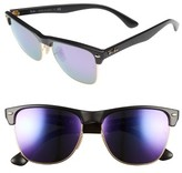 Ray-Ban Men's 'Highstreet' 57Mm Sunglasses - Demi Shiny Black/ Purple