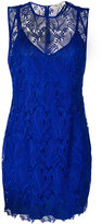 Diane von Furstenberg lace mini dress - women - Polyester/Spandex/Elastane - 6