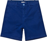 Paul Smith Bright Blue Shorts with Zebra Branding