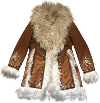 Spell & The Gypsy Collective Camel Faux fur Coat for Women