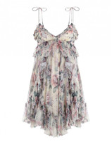Zimmermann Jasper Ruffle Mini Dress