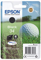 Epson Golfball T3461 Inkjet Printer Cartridge, Black