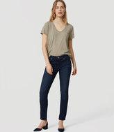 LOFT Modern Skinny Jeans in Staple Dark Indigo Wash