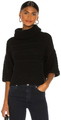 Alice + Olivia Francine Turtleneck Sweater
