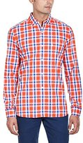 French Connection Men's High Summer Check Woven Shirt