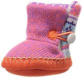 Muk Luks Kids' Fairisle Flora Baby Slipper Slide