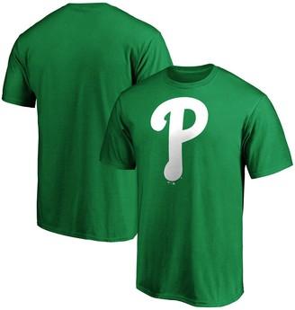 Men's Fanatics Branded Kelly Green Philadelphia Phillies St. Patrick's Day Logo T-Shirt