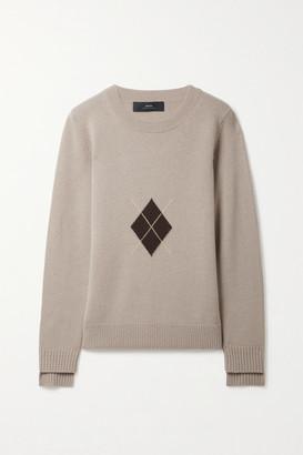 Arch4 Swan Walk Argyle Cashmere Sweater