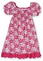 Kickee Pants Little Girls Bamboo Gathered Dress