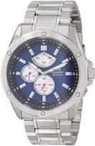 Orient Men's SEZ07003D0 Enforcer Analog Japanese-Automatic Silver Watch